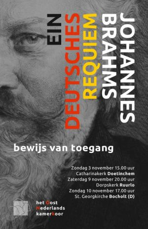 Kaartje Brahms 3 november 2019 Doetinchem